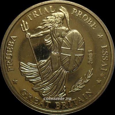 20 евроцентов 2003 Великобритания. Европроба. Specimen.