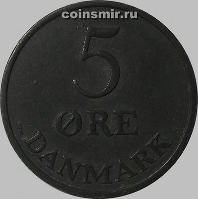 5 эре 1954 Дания.