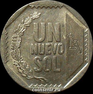 1 новый соль 2011 Перу.