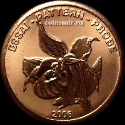 2 евроцента 2006 Швеция. Европроба. Ceros.
