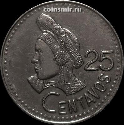 25 сентаво 1993 Гватемала.