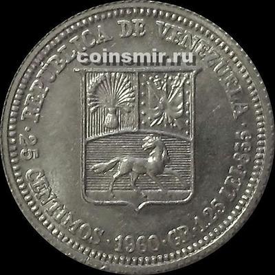 25 сентимо 1960 Венесуэла.