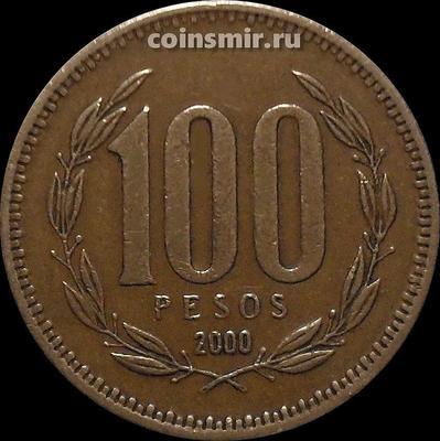 100 песо 2000 Чили.