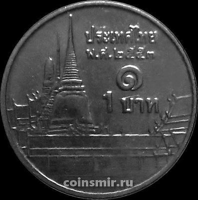 1 бат 2010 Таиланд. Храм Изумрудного Будды.