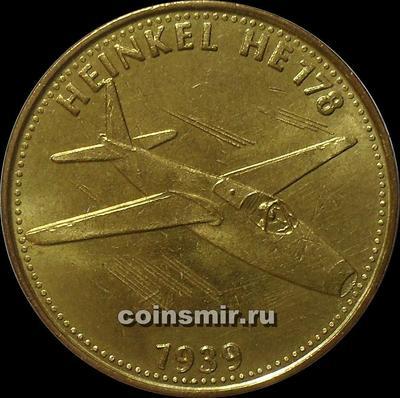 Жетон shell 1939 HEINKEL HE 178