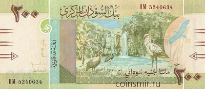 200 фунтов 2019 Судан.