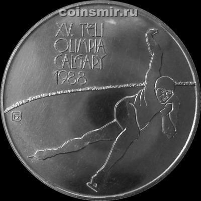 500 форинтов 1986 Венгрия. Олимпиада 1988 в Калгари.