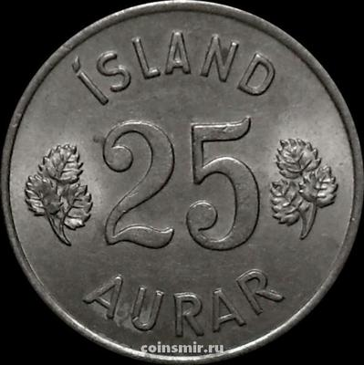 25 эйре 1965 Исландия.