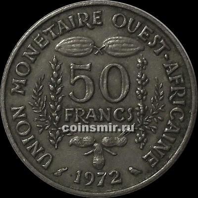 50 франков 1972  КФА BCEAO (Западная Африка).