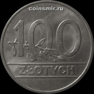 100 злотых 1990 Польша.
