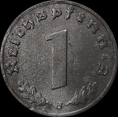 1 пфенниг 1942 J Германия. Третий рейх.