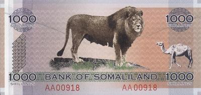 1000 шиллингов 2006 Сомалиленд.