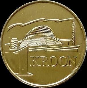 1 крона 1999  Эстония. Песенный фестиваль.