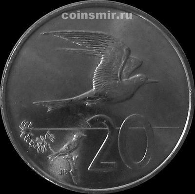20 центов 2015 Острова Кука.
