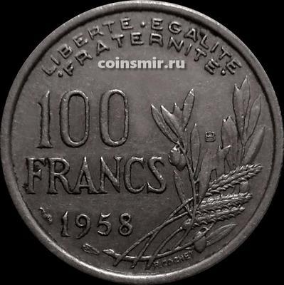 100 франков 1958 В Франция.