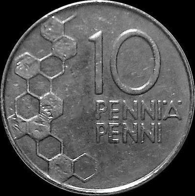 10 пенни 1991 Финляндия.