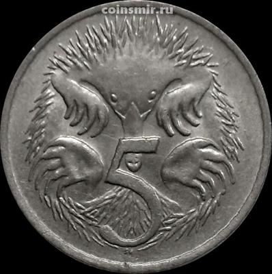 5 центов 1979 Австралия. Ехидна.