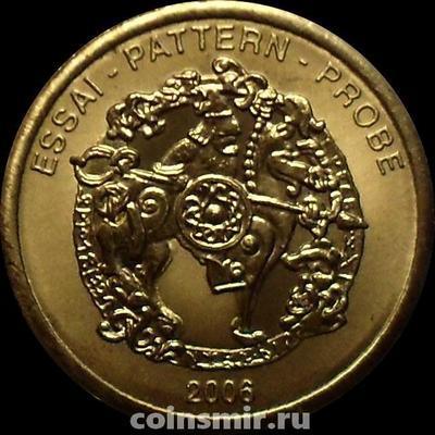10 евроцентов 2006 Швеция. Европроба. Ceros.