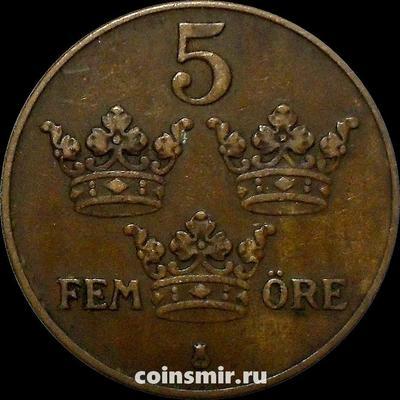 5 эре 1931 Швеция.