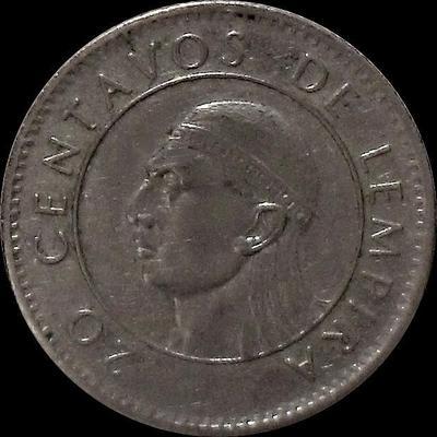 20 сентаво 1991 Гондурас.