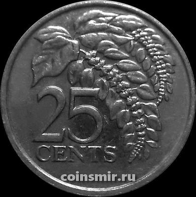 25 центов 1999 Тринидад и Тобаго.