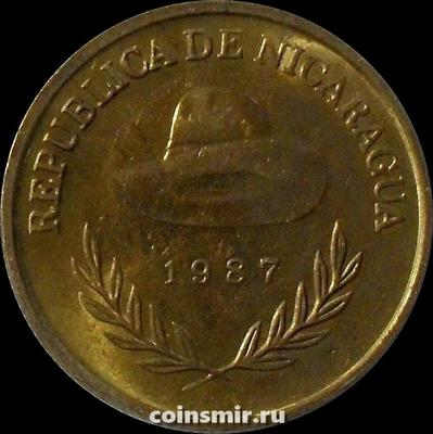 1 кордоба 1987 Никарагуа.