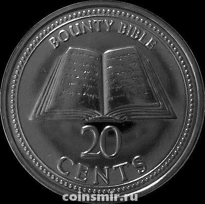 20 центов 2009 острова Питкэрн. Библия.