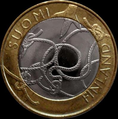 5 евро 2011 Финляндия. Тавастия.