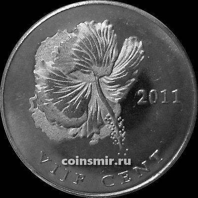 5 центов 2011 остров Бонэйр.