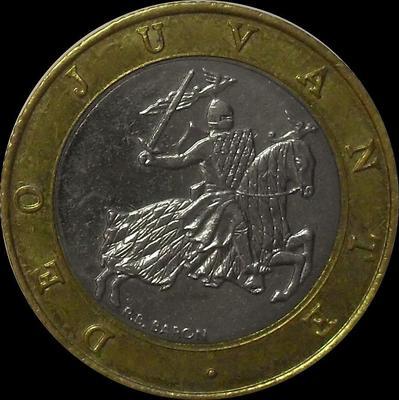 10 франков 1992 Монако.  (в наличии 1993 год)