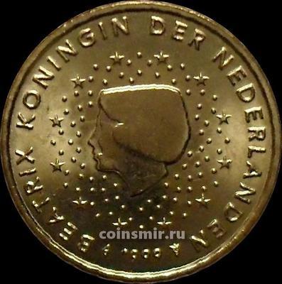 10 евроцентов 1999 Нидерланды. Беатрикс.