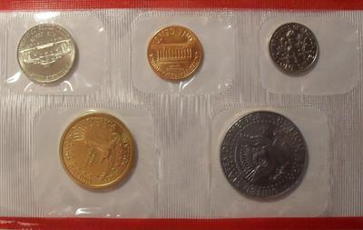 Набор из 5 монет 2002 D США.