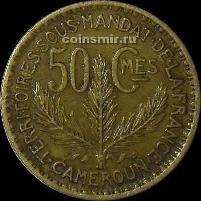 50 сантимов 1926 французский Камерун.