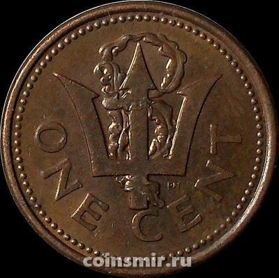 1 цент 1995 Барбадос.