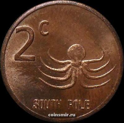 2 цента 2013 Южный полюс.