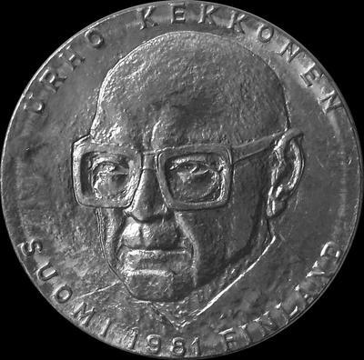 50 марок 1981 Финляндия. Президент Урхо Кекконен.