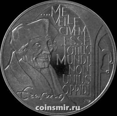 10 экю 1991 Нидерланды. Дезидерий Эразм Роттердамский.