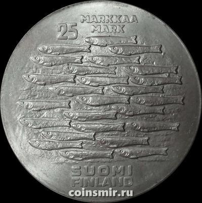 25 марок 1979 Финляндия. 750 лет городу Турку.