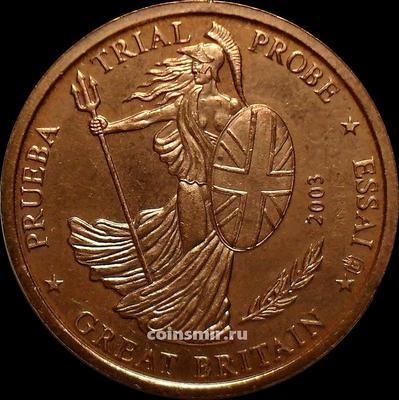 5 евроцентов 2003 Великобритания. Европроба. Specimen.