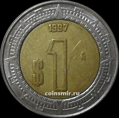 1 песо 1997 Мексика.