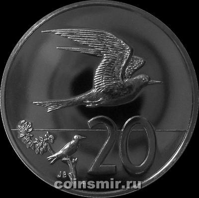 20 центов 1975 острова Кука.