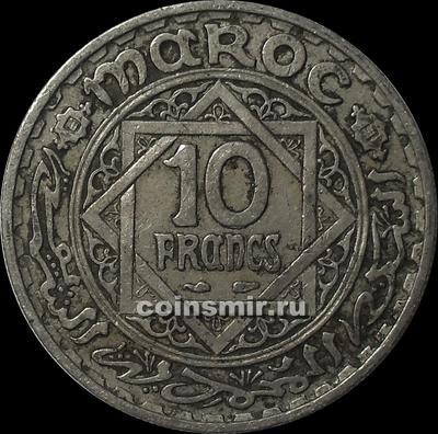 10 франков 1947 Марокко.