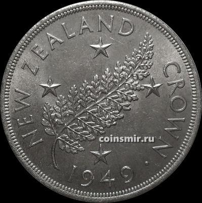 1 крона 1949 Новая Зеландия.