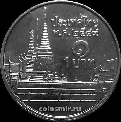 1 бат 2006 Таиланд. Храм Изумрудного Будды.
