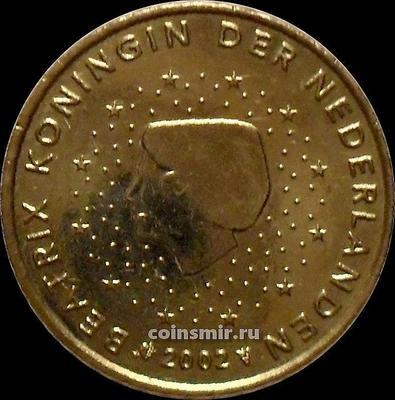 50 евроцентов 2002 Нидерланды. Беатрикс.