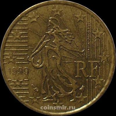 10 евроцентов 1999 Франция. VF