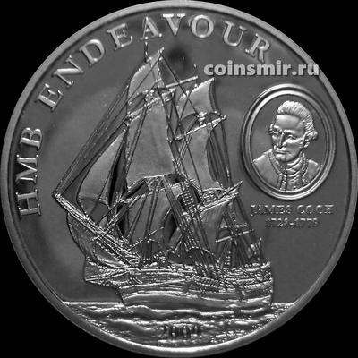1 доллар 2010 острова Кука. Индевор.