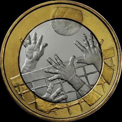 5 евро 2015 Финляндия. Волейбол.