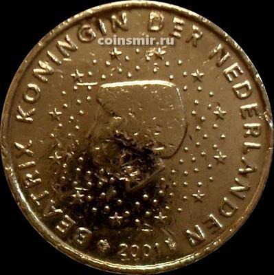 10 евроцентов 2001 Нидерланды. Беатрикс.