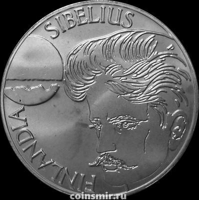 100 марок 1999 Финляндия. Композитор Ян Сибелиус.